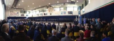Allestimento dell'Hangar di cerimonia Cambio di Comando